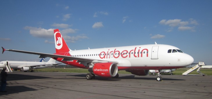 SECOND A319 FOR AIR BERLIN