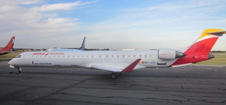 CRJ-900 & CRJ-1000 AIR NOSTRUM NEW LIVERY